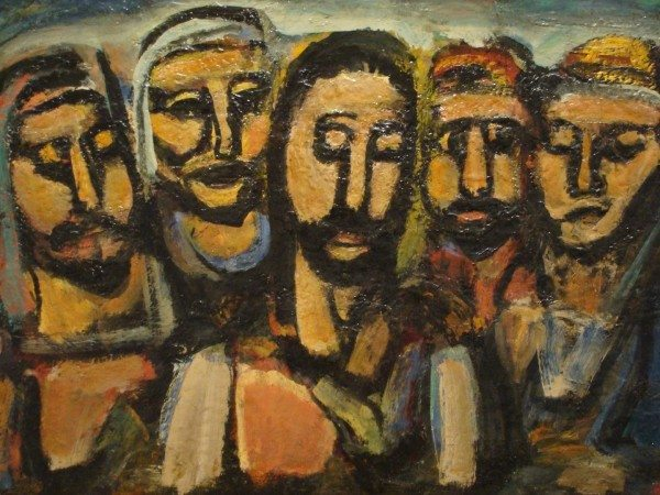 Rouault_Christ+His-Disciples