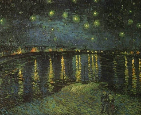 VincentVanGogh-Starry-Night-over-the-Rhone-1888