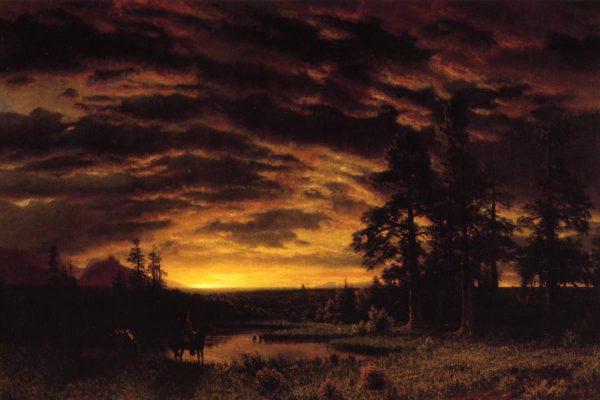 Bierstadt_Albert_Evening_on_the_Prairie